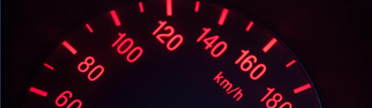 header speedometer