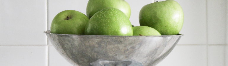 header apples bowl